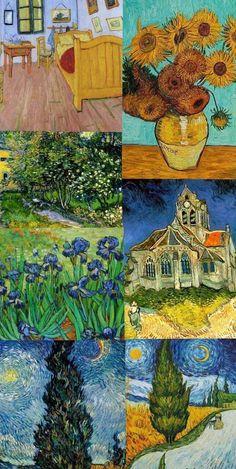 Van Gogh Wallpaper, Painting Wallpaper, Painting & Drawing, Aesthetic Pastel Wallpaper, Aesthetic Backgrounds, Aesthetic Wallpapers, Van Gogh Art, Van Gogh Paintings, Jolie Photo