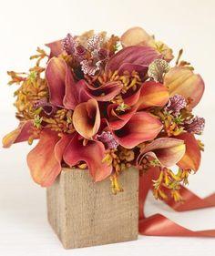 Find the perfect orange or red bouquet to match your warm wedding palette. Orange Wedding Flowers, Flower Bouquet Wedding, Orange Flowers, Lily Wedding, Boquet, Burgundy Flowers, Flower Bouquets, Orange Pink, Pink Purple