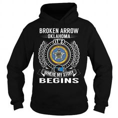 Broken Arrow, Oklahoma It's Where My Story Begins T-Shirts, Hoodies, Sweatshirts, Tee Shirts (39.99$ ==► Shopping Now!)