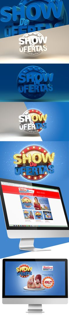 Show de Ofertas - Supermercado Tatico on Behance