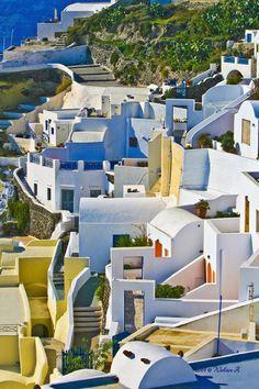 Santorini, Greece - photo by wzphotography