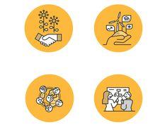 Mustard Website Illustrations on Behance