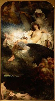 An Allegory, 1904 by Solomon Joseph Solomon
