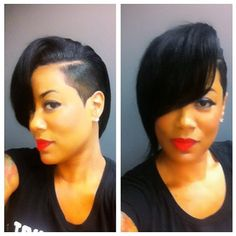 I've liked this style since high school but I've never had the balls to cut my hair. :-(