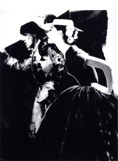 Photo by Lillian Bassman For Harper's Bazaar, 1950