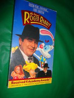Who Framed Roger Rabbit? VHS Movie find me at www.dandeepop.com