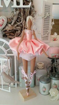 Tilda ballerina in pink