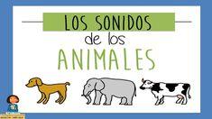 Los sonidos de los animales - Juego educativo para niños Farm Unit, School Songs, Music For Kids, After School, Child Development, Preschool Crafts, Speech Therapy, Sons, Musicals