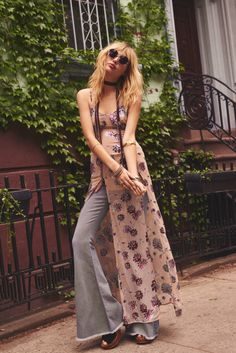 STAZ LINDES TAKES ON ROCKER CHIC STYLE FOR FREE PEOPLE SHOOT