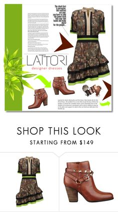 """LATTORI"" by janee-oss ❤ liked on Polyvore featuring Michael Kors, Lattori and GUESS"