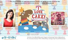 #BookADay: I LOVE CAKE by Tammi Sauer and Angie Rozelaar - Inkygirl: Guide For Kidlit/YA Writers & Artists - via @inkyelbows