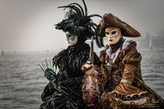 Carnival of Venice - Carnevale | Pirates Wearing Masks
