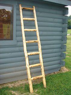 Quilt Ladders | Log Furniture
