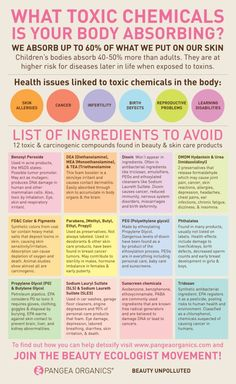 12 Harmful Ingredients In Skin Care Products You MUST Avoid | Live Love Fruit