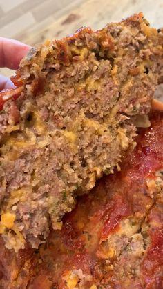 Casserole Recipes, Meat Recipes, Dinner Recipes, Cooking Recipes, Dinner Entrees, Hamburger Recipes, Meatloaf Recipes, Copycat Recipes, Appetizer Recipes