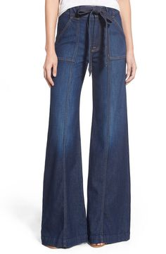 0bf623024fde 7 For All Mankind® 7 For All Mankind® High Rise Palazzo Jeans (Saint