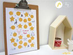 DIY : Un calendrier de l'Avent à gratter ! | SAPRISTIPOPETTE