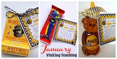 January Visiting Teaching Handouts. From Marci Coombs Blog