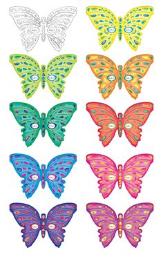 Printable Butterfly Masks - Coolest Free Printables