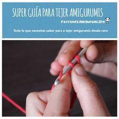 Super Guía para tejer Amigurumis Silly Me, Amigurumi Tutorial, Fun Hobbies, C2c, Chrochet, Pet Gifts, Crochet Dolls, Crochet Patterns, Tips