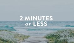 2 Minutes or Less   DaySpring