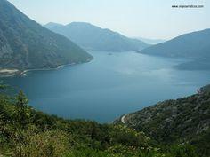 Viajes Erráticos: Bahía de Kotor (Boka Kotorska) MONTENEGRO
