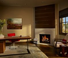 Spanish Oaks Home Office - contemporary - Home Office - Austin - VERVANO