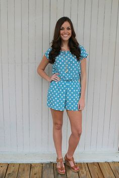 Perfect romper for spring! Glamour Days romper is only $35.00 at shopjulianas.com