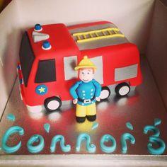 Fireman Sam cake. Cake lady hinckley #fireman #sam #episodes Fireman Sam Cake, Cake Decorating, Cakes, Lady, Mudpie, Cake, Pastries, Pies, Layer Cakes