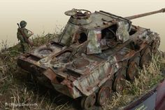 Destroyed Panther G