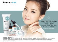 "Neogence ""New Pore Solutions, The New Innovation! 