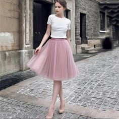Charming Short Tulle Lovely Pink Green Prom Dresses, Teenage Prom Dress, Homecoming Dresses, Source by lularoedarlenel dress teenage Jupe Tulle Rose, Pink Tulle Skirt, Tulle Lace, Tule Skirt Outfit, Tulle Skirts, Modest Homecoming Dresses, Pink Prom Dresses, Dresses Dresses, Dress Prom