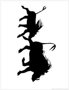 Stencil Patterns, Stencil Designs, Animal Sketches, Animal Drawings, Animal Stencil, Charcoal Sketch, Tattoo Outline, Animal Silhouette, Wildlife Paintings