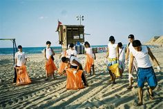 cleaning beach - Google Search