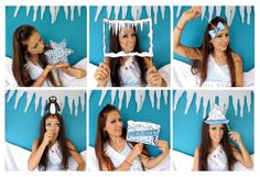 Antarctica penguin photo booth props perfect for by thepartyevent