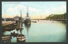 WEYMOUTH. Dorset. The Harbour. Vintage Ettlinger Printed.