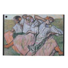 Three Russian Dancers by Edgar Degas iPad Air Case