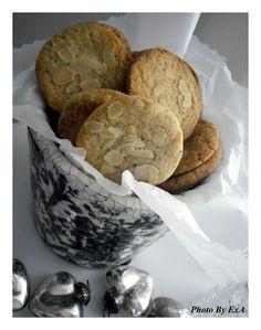 Μπισκότα Βουτύρου με Αμύγδαλο (Almond Butter Cookies)