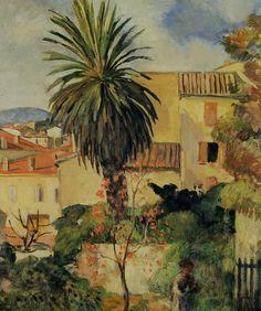 Henri Lebasque | Paysage de Saint-Tropez, 1906