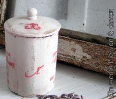 Geschenkidee zu Weihnachten: Dose No. 2   von Ein wenig hiervon & davon auf DaWanda.com
