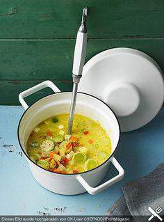 Gemüseeintopf mit Kokosmilch, ein raffiniertes Rezept aus der Kategorie Gemüse. Bewertungen: 191. Durchschnitt: Ø 4,6.