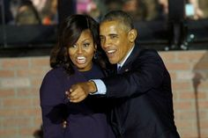 """November 29, 2016: President Obama says both he and First Lady Michelle Obama will be """"very active"""" in working with people at the grass-roots level to support progressive causes once he leaves office. But despite her popularity and natural public speaking ability, Michelle isn't interested in a career in politics. """"Michelle will never run for office""""."""