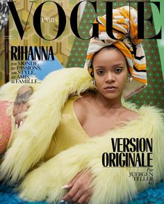 rihanna vogue paris december 2017