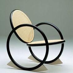 Vernon Panton rocking chair