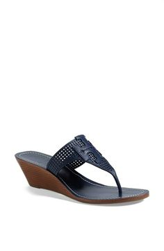 d8b416e6e258 Tory Burch  Mcfee  Wedge Sandal (Online Only) available at  Nordstrom Navy