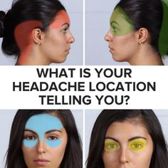 Acupressure Headache 7 Pressure Points To Help With Headaches - Health And Beauty, Health And Wellness, Health Tips, Health Fitness, Beauty Skin, Massage Therapy, Massage Tips, Health Remedies, Body Care