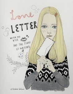 LOVE LETTER on Flickr.ⓒ Madame Lolina way too cute