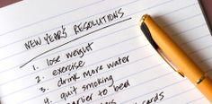 Looking for a New Year's resolution? Here are a couple of suggestions!