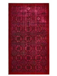 """Vintage Hand-Knotted Overdyed Rug (5'8""""x9'3"""") by nuLOOM on Gilt Home"""