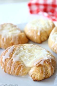 Easy Cream Cheese Danish